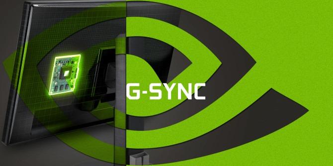 Nvidia G-Sync Interface Screen