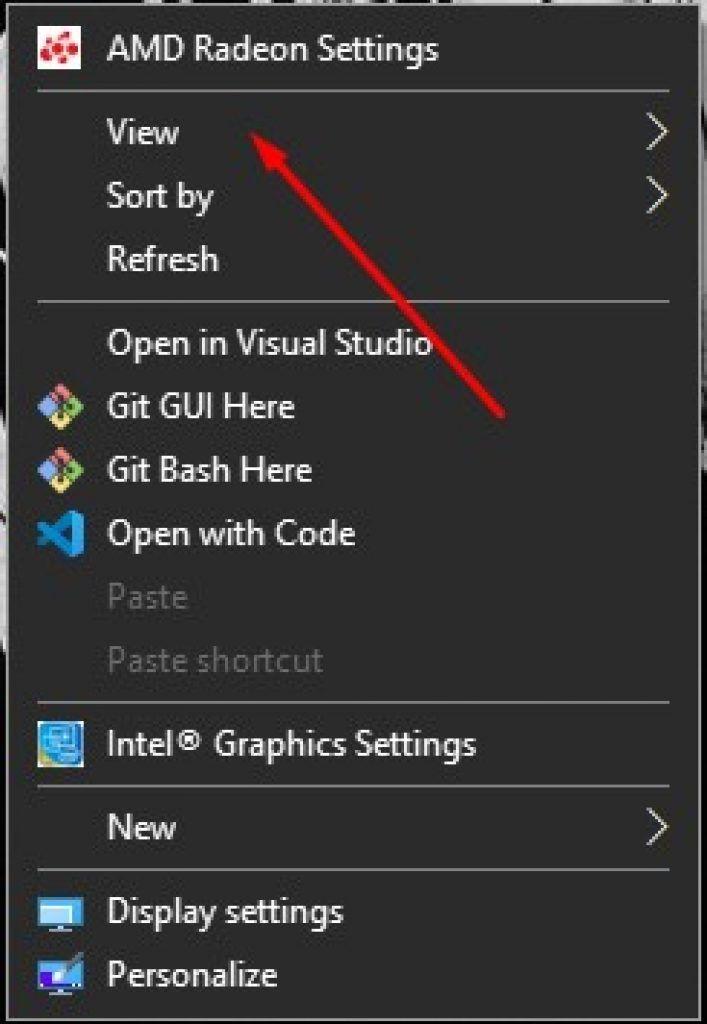 AMD Radeon Settings Icon in Windows