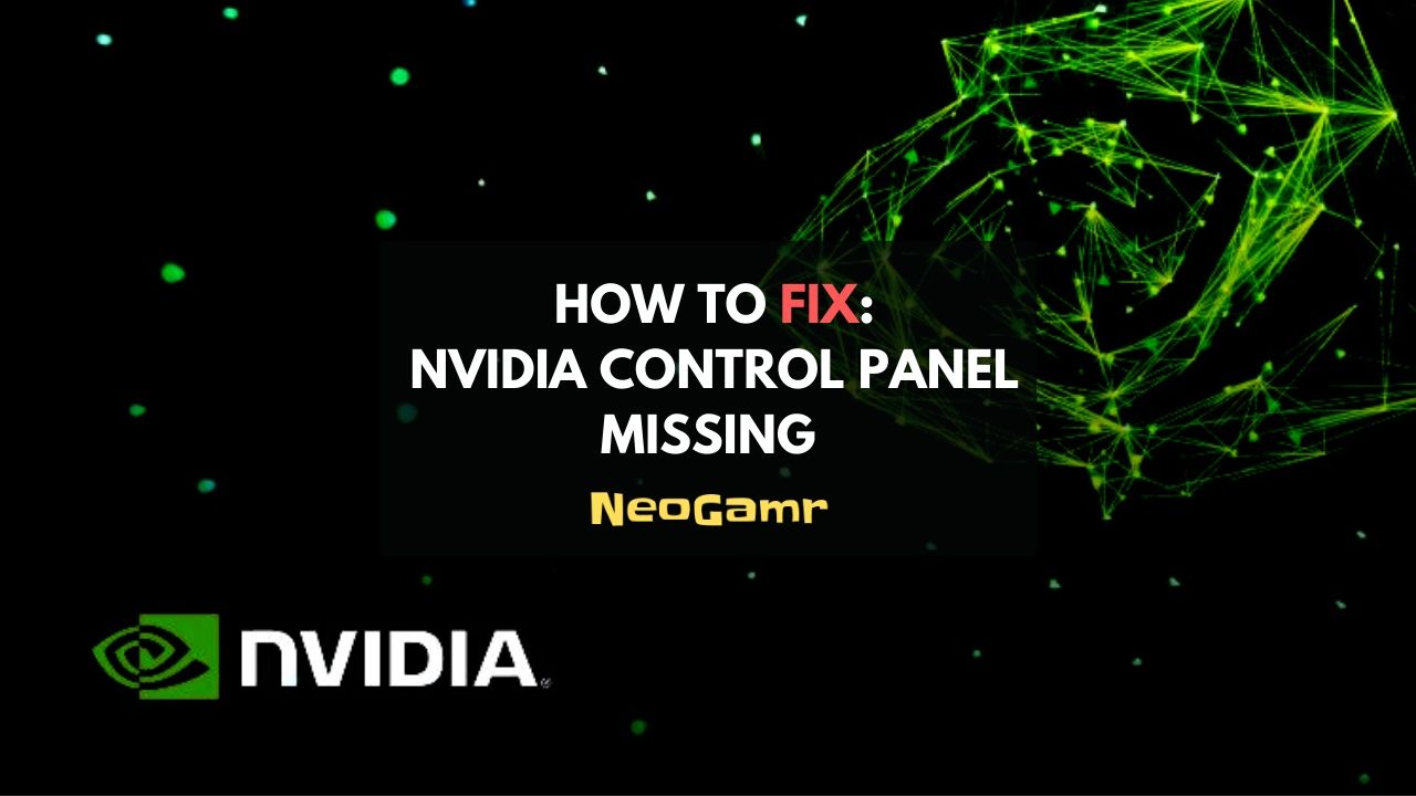 How To Fix Nvidia Control Panel Missing (Thumbnail)