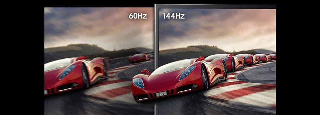 Monitor Refresh Rate Comparison 60Hz vs 144Hz
