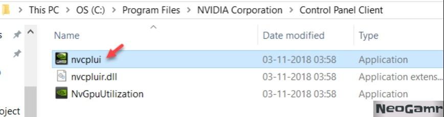 NVIDIA Corporation Folder