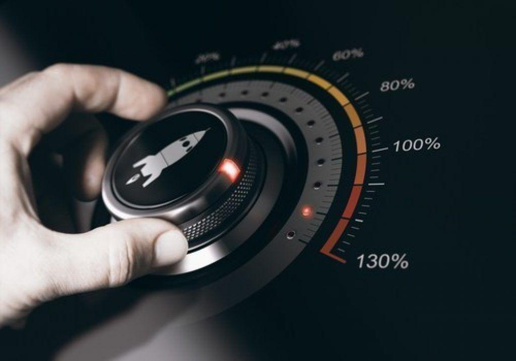 Speedometer Dial Overclocking Monitor