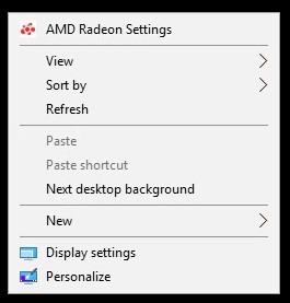 Windows Settings Pop up