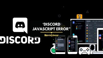 "A Quick Way To Solve The 'Discord Javascript Error"" - (Thumbnail)"