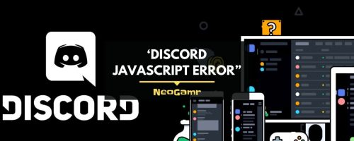A Quick Way To Solve The 'Discord Javascript Error""