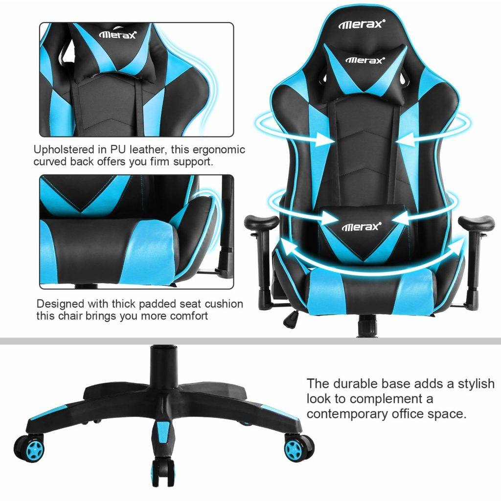 Features of Merax Racing Chair