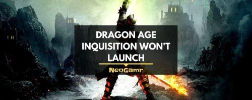 Fix: Dragon Age Inquisition Won't Launch