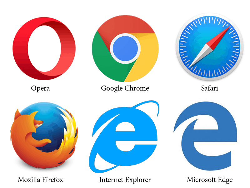 Internet Web Browsers Icons