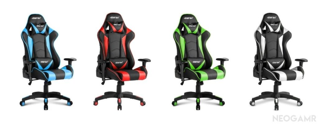 Merax Gaming Chairs in Different Colors