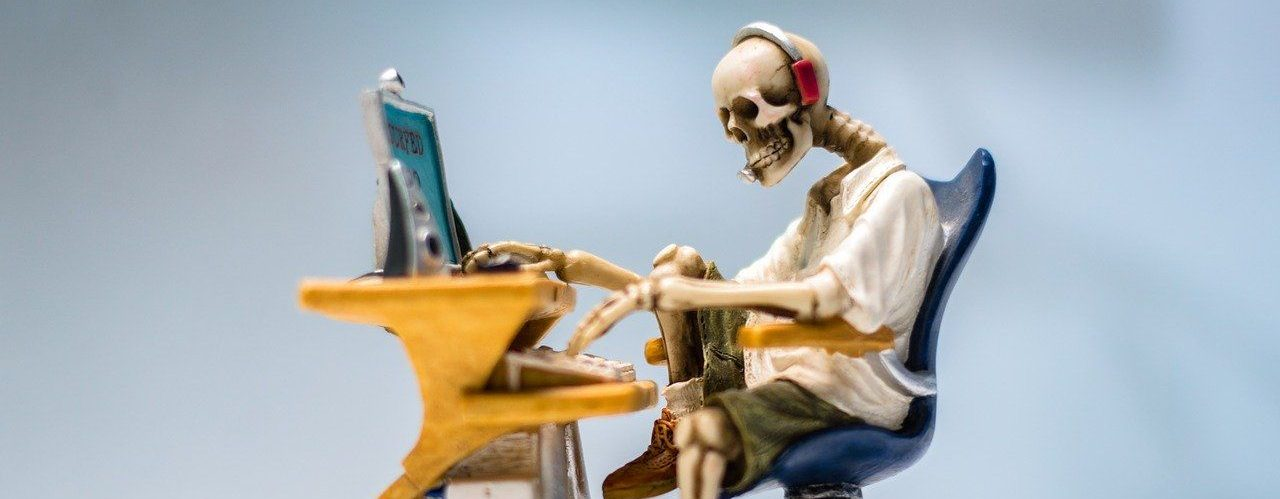 Skeleton Working on a PC