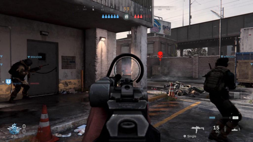 call of duty modern warfare gameplay image