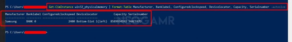 Type Get-CimInstance Windows Powershell