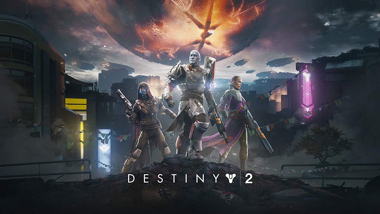 Destiny 2 video game cover