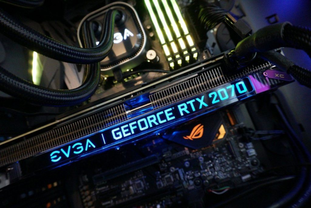 Evga graphics card with led lights