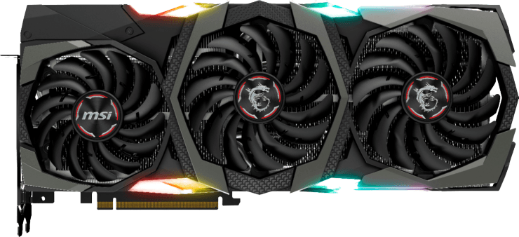MSI 2080 ti graphics card