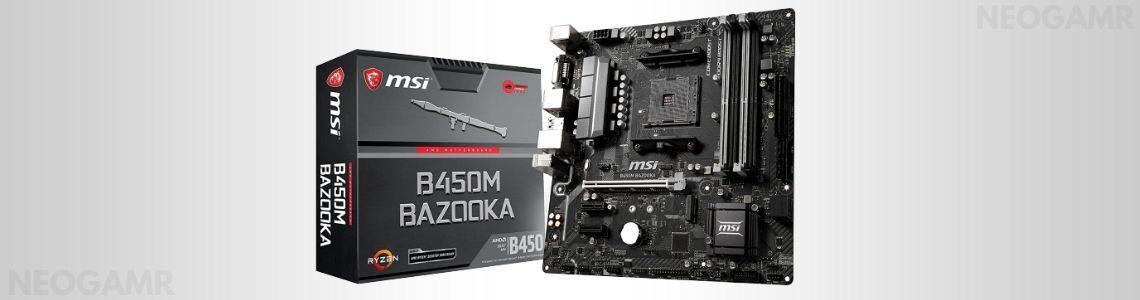 MSI B450M BAZOOKA Motherboard