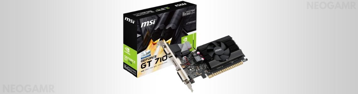 MSI Gaming GeForce GT 710