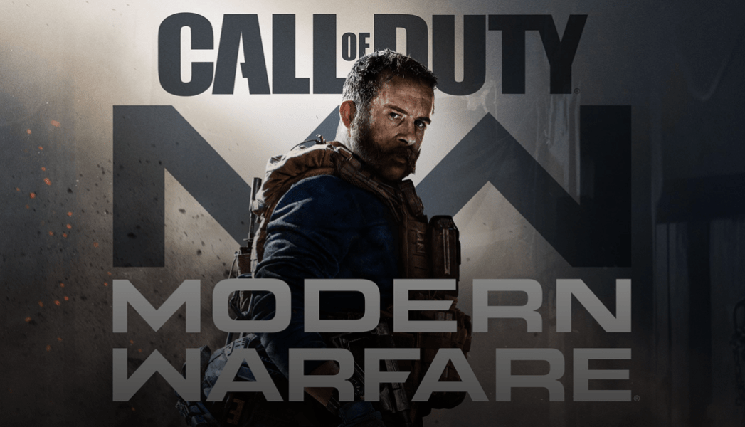 Modern Warefare video game cover