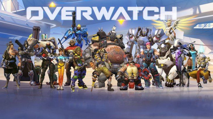 Overwatch video game cover