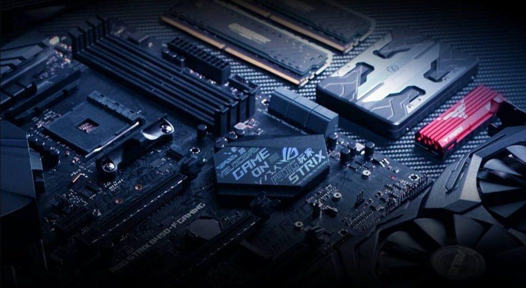 Rog strix motherboard image