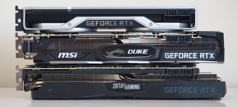 Two duke 2080 ti rtx