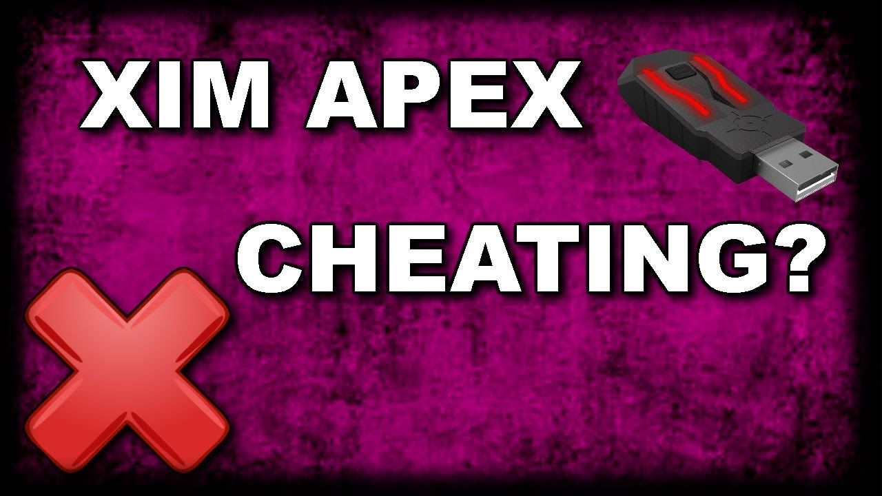 XIM APEX WITH A TITLE ON THE IMAGE