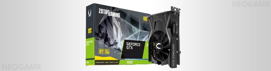 ZOTAC Gaming GeForce GTX 1650 OC Edition