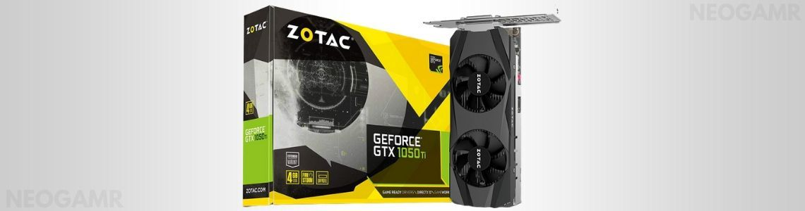 ZOTAC GeForce GTX 1050 Ti