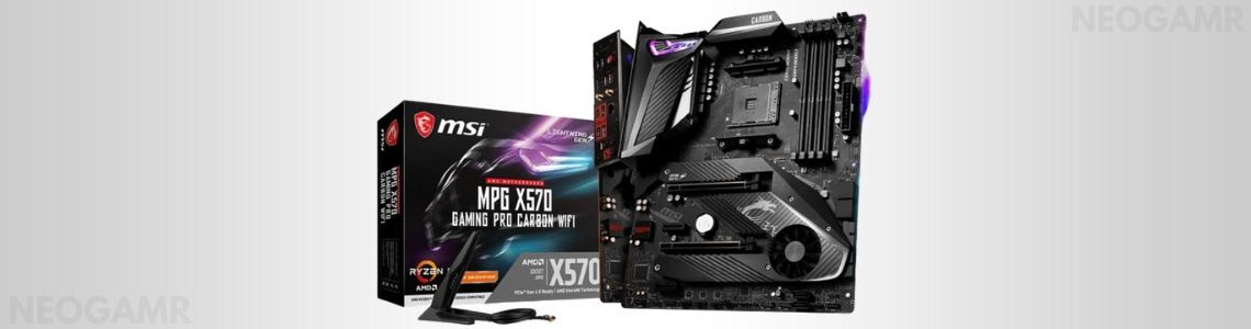MSI MPG X570 Gaming PRO Carbon