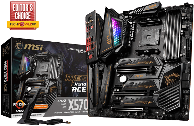 Small product image of MSI MEG X570 ACE Motherboard