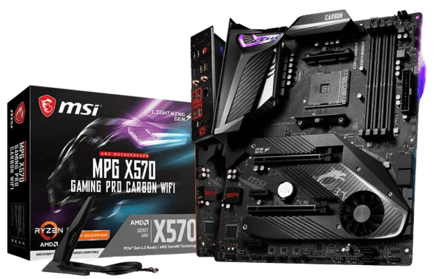 Product 1 - MSI MPG X570 Gaming PRO Carbon