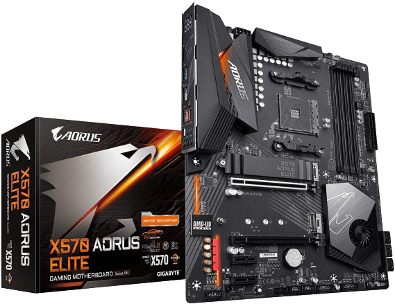 Small product image of Gigabyte X570 AORUS Elite