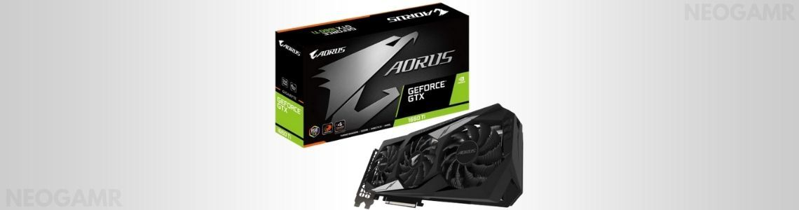 GIGABYTE AORUS GeForce GTX 1660 Ti