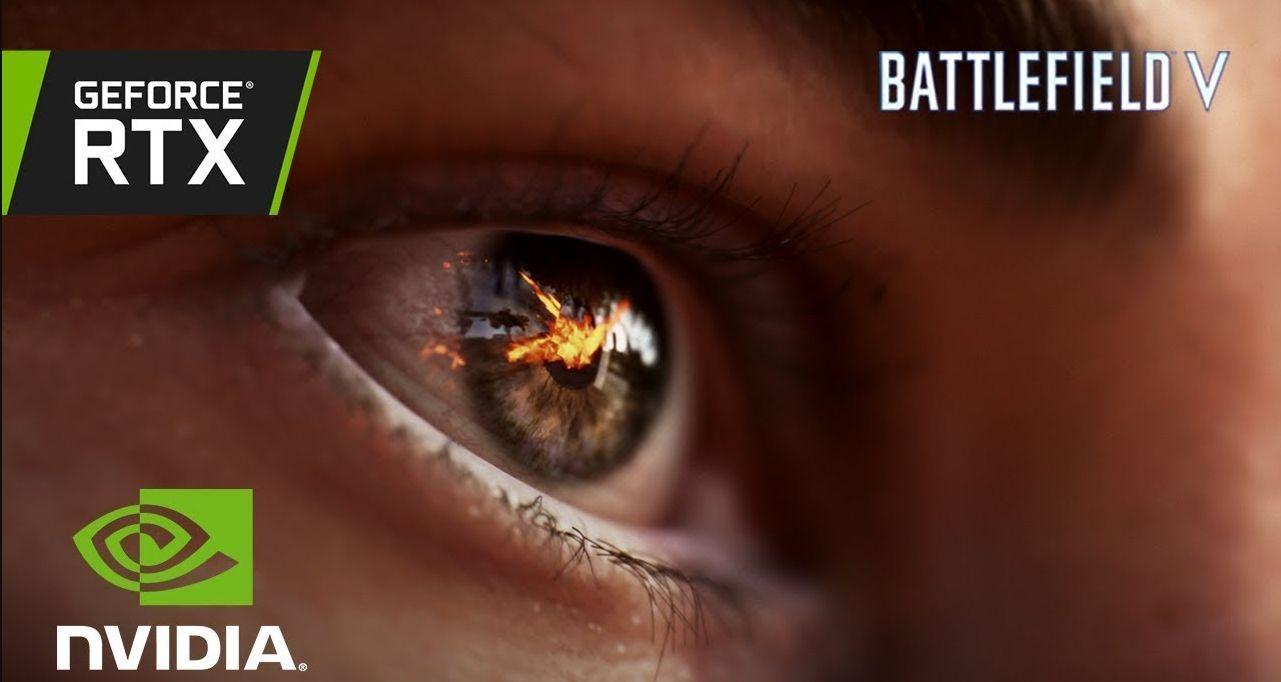 Human eye in RTX mode