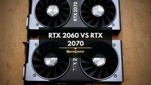 RTX 2060 vs RTX 2070