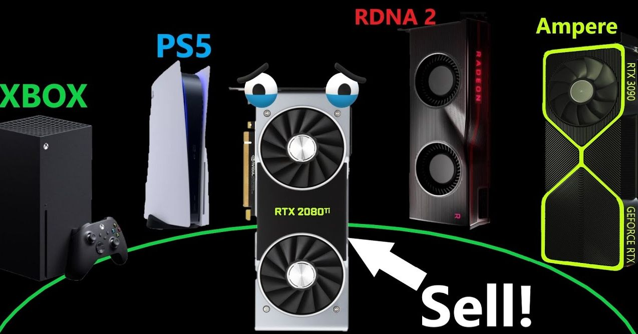 Different GPUs and gaming consoles