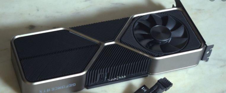 Nvidia RTX 3080 dual fan design