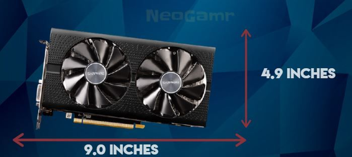 An Example of RX 580 Size