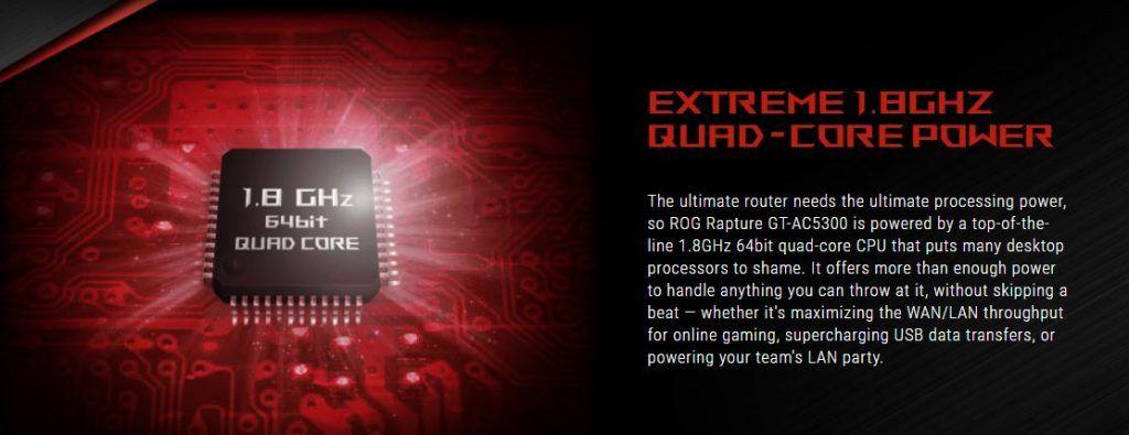 Asus ROG Rapture CPU