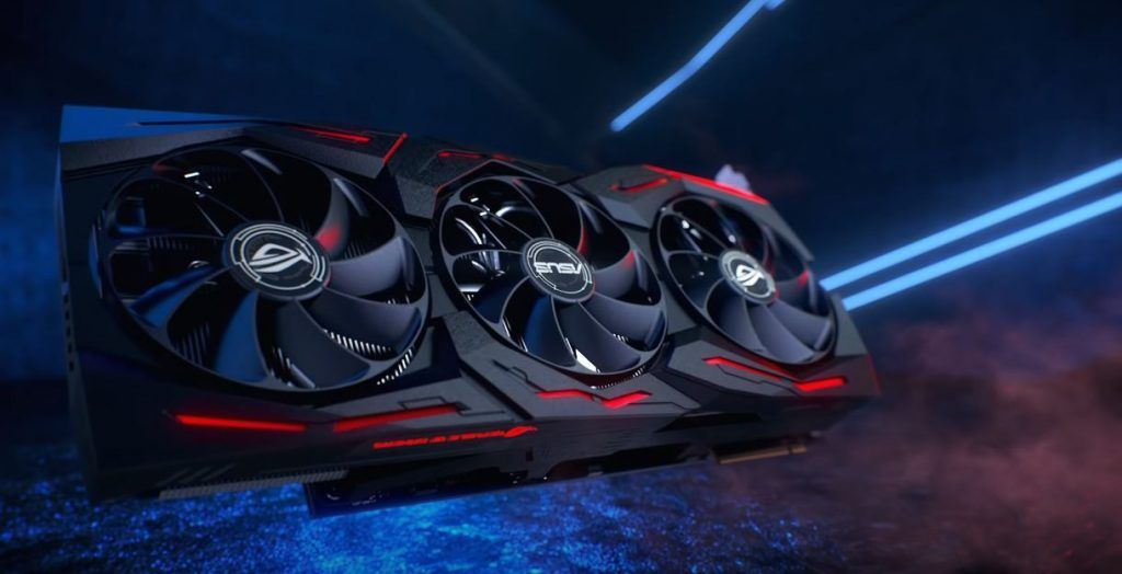 CGI Generated image of ASUS ROG RTX 2080 and 2080ti