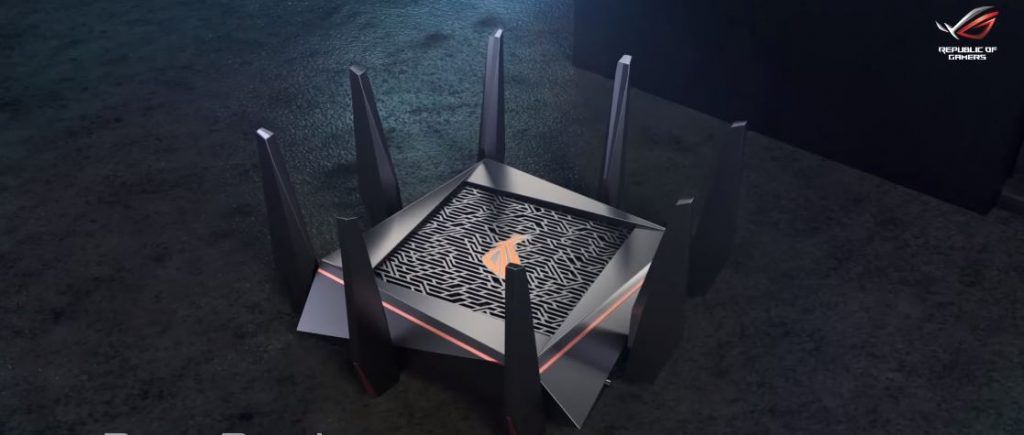 CGI Image of ROG Rapture GT ac5300