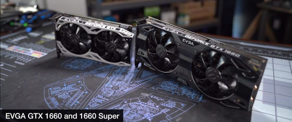 Comparison of 1660 Super and 1660 Base model