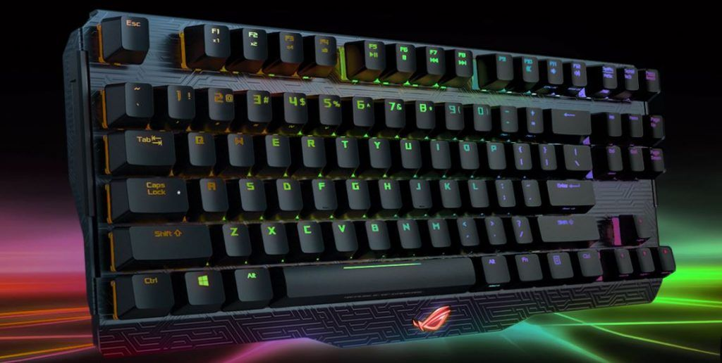Image of Asus ROG Claymore TKL Keyboard