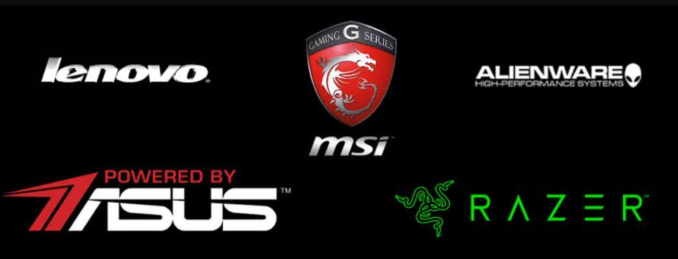 Logo of gaming laptop brands