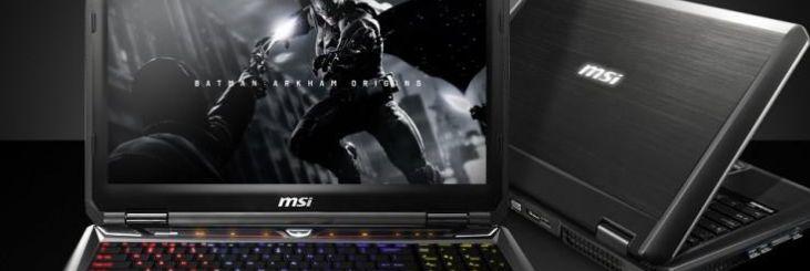 MSI gaming laptop image