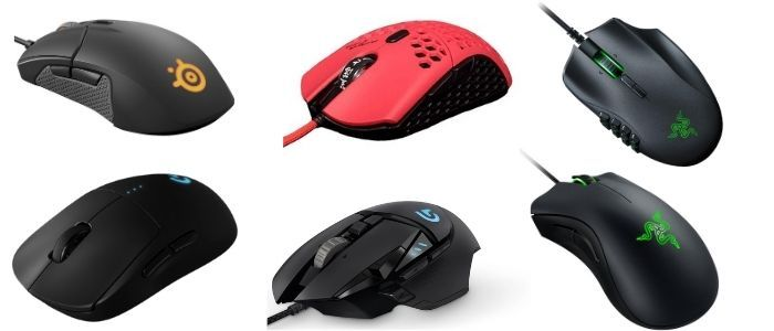 Showing 6 Best Mouse For Fortnite