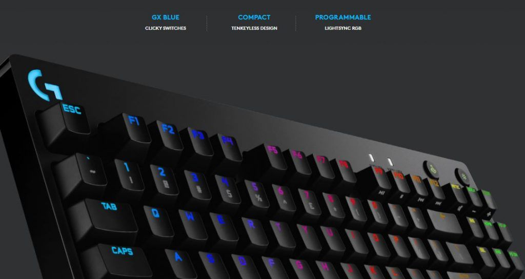 Showing the features of Logitech G Pro Keyboard