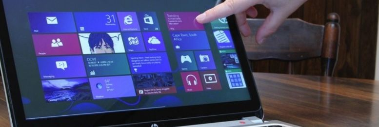 Touch screen gaming laptop