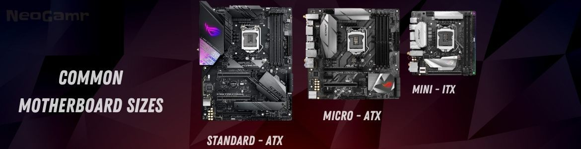 Common Motherboard Sizes