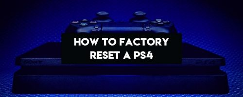 How To Factory Reset A PS4 Without Losing Your Data – (Like A Pro)